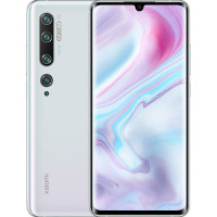 Смартфон Xiaomi Mi Note 10 6/128 GB (Global, белый/Glacier White) (M1910F4G)